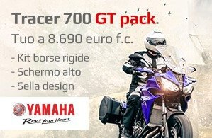 Yamaha Tracer 700 GT PACK 14 Marzo 2018